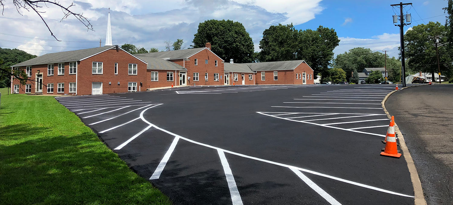 Blacktop Parking Lot Paving in Gloucester County NJ